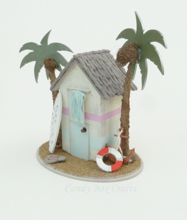 Beach Hut Money Box kit